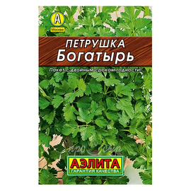 Семена Петрушка листовая Богатырь